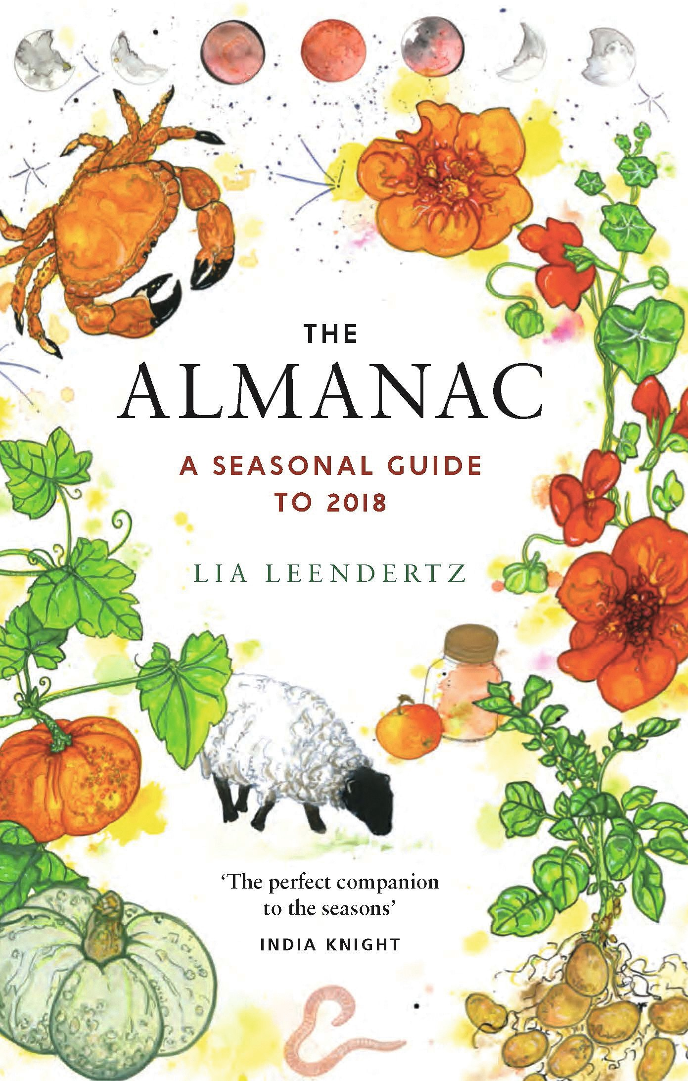 The almanac by Lia Leendertz